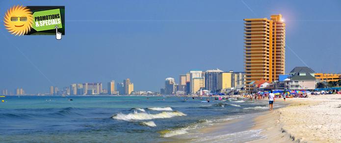 Panama City Beach Beachront Rentals 850 696 7940